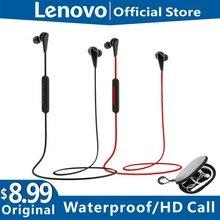 레노버 HE01 블루투스 5.0 넥 밴드 무선 헤드폰 스테레오 스포츠 마그네틱 엔터테인먼트 스포츠 귀마개 보관 가방
