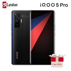 Оригинальный vivo IQOO 5 Pro Snapdragon 865 5G мобильный телефон 8 Гб 256 50MP 120W зарядки 120 Гц частота обновления Android 10 мобильного телефона