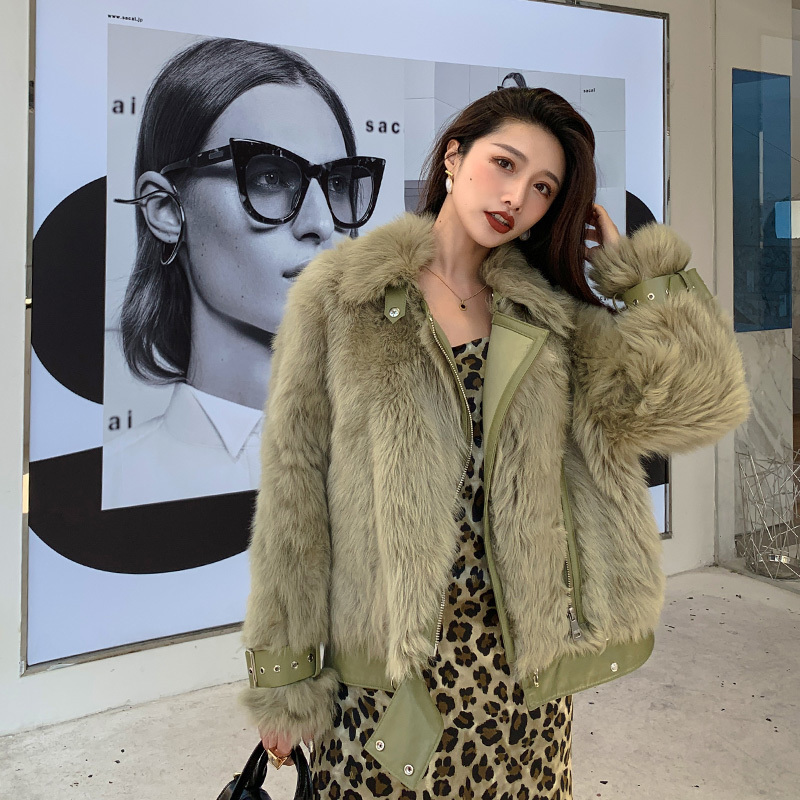 Natural Real Fur Coat Female Vintage 100% Wool Jacket Women Winter Clothes 2020 Korean Double Faced Fur Top Overcoat Hiver 19006