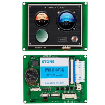 5 Inch 480*272 TFT LCD Module With Touch Screen +Controller Board Support Any MCU tft screen 3 5 lcd touch panel controller board uart interface support any mcu