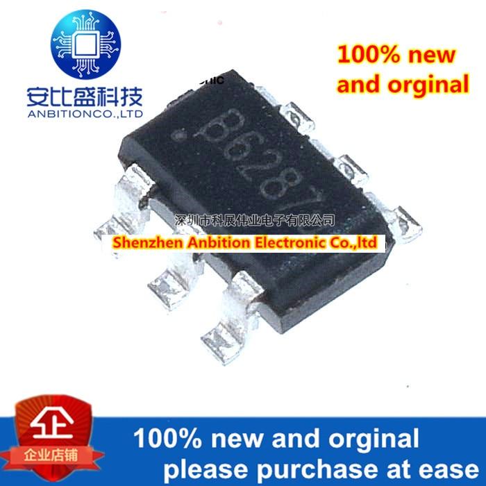 20pcs 100% New And Orginal SDB628 Silk-screen B628 1.2MHz 2A 28V IC SOT23-6  In Stock