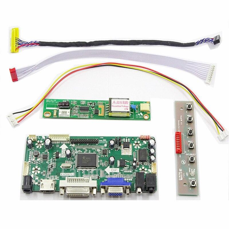 HDMI+DVI+VGA LCD Controller Converter Board Monitor Kit for 1440X900 LTN170BT05