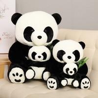 Big Cute Stuffed Animals Plush Toy Panda Hand Warmer Soft Stuffed Plush Panda Lovely Cute Peluches Grandes Plush Toys JJ60MR