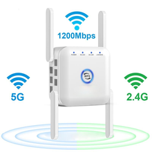 5G Wifi Repeater 5ghz Repeater Wifi 1200M Router Wifi Extender Long Range 2.4G Wi Fi Booster Wi-Fi Signal Amplifier Access Point