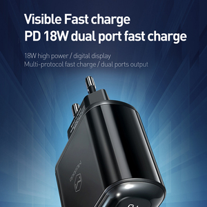 Image 2 - Mcdodo Digital Display QC3.0 USB Charger 18W PD 3.0 Fast Charge for iPhone 11 Pro SCP AFC Phone Charger Type C Macbook Tablet 6