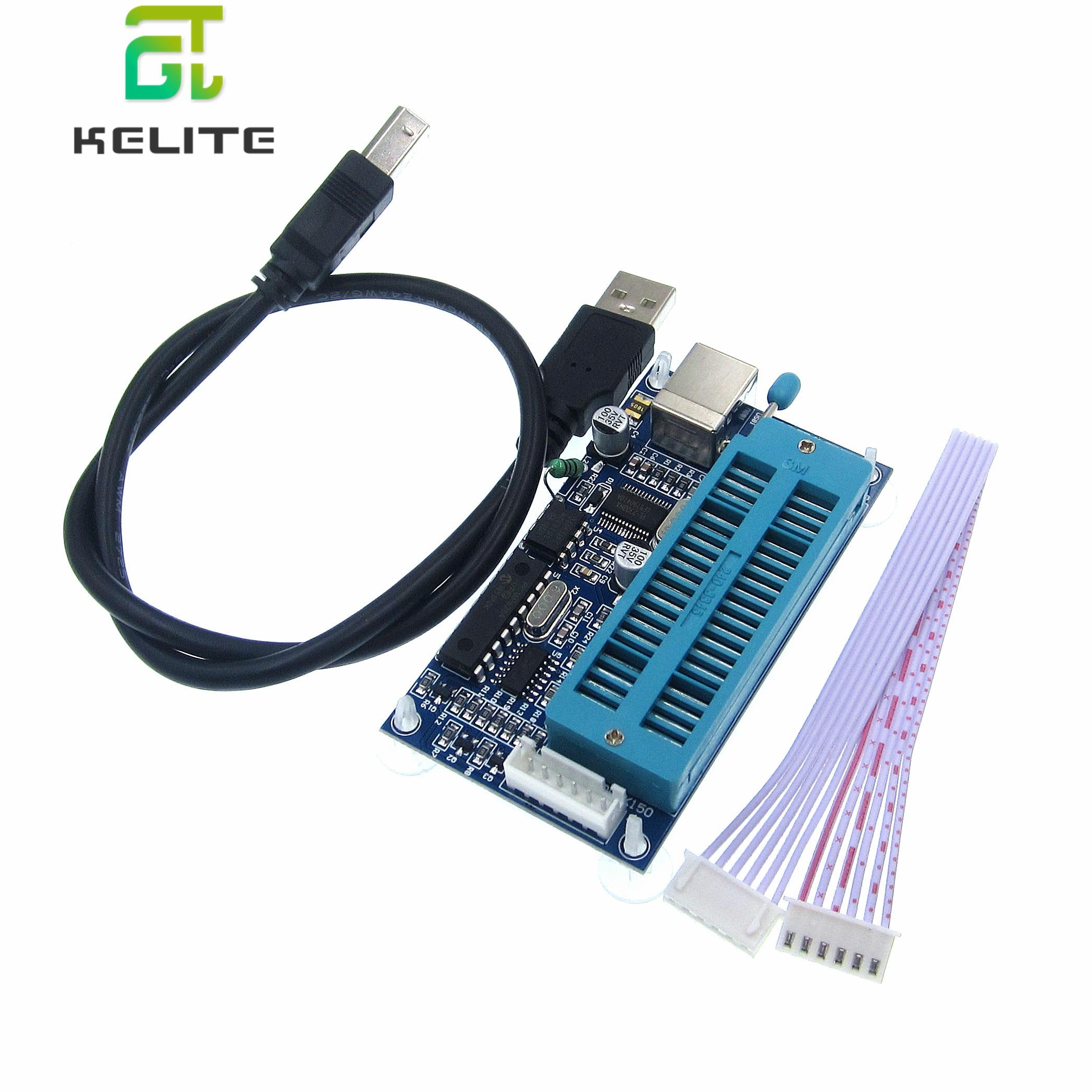 1 teile/los PIC K150 ICSP Programmierer USB Automatische Programmierung Entwickeln Mikrocontroller + USB ICSP kabel