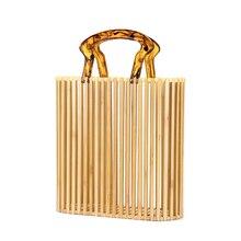 Realer women bamboo bags summer bags for travel handmade wov