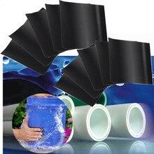 Herramientas de conductos impermeables para Instagram cinta adhesiva de alta resistencia para tuberías de manguera, grifo de agua, parada rápida de fugas, 10 Uds.