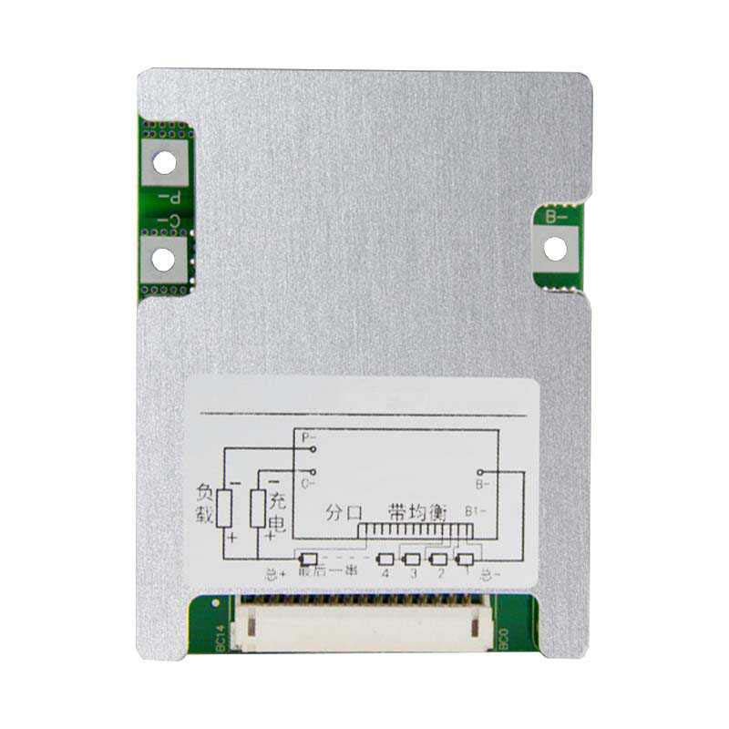 <font><b>BMS</b></font> <font><b>13S</b></font> <font><b>15A</b></font> 20A 25A 30A 40A 48V Lithium 18650 Battery Charge Protection Board Active Balancer Equalizer with Wire for Ebike image
