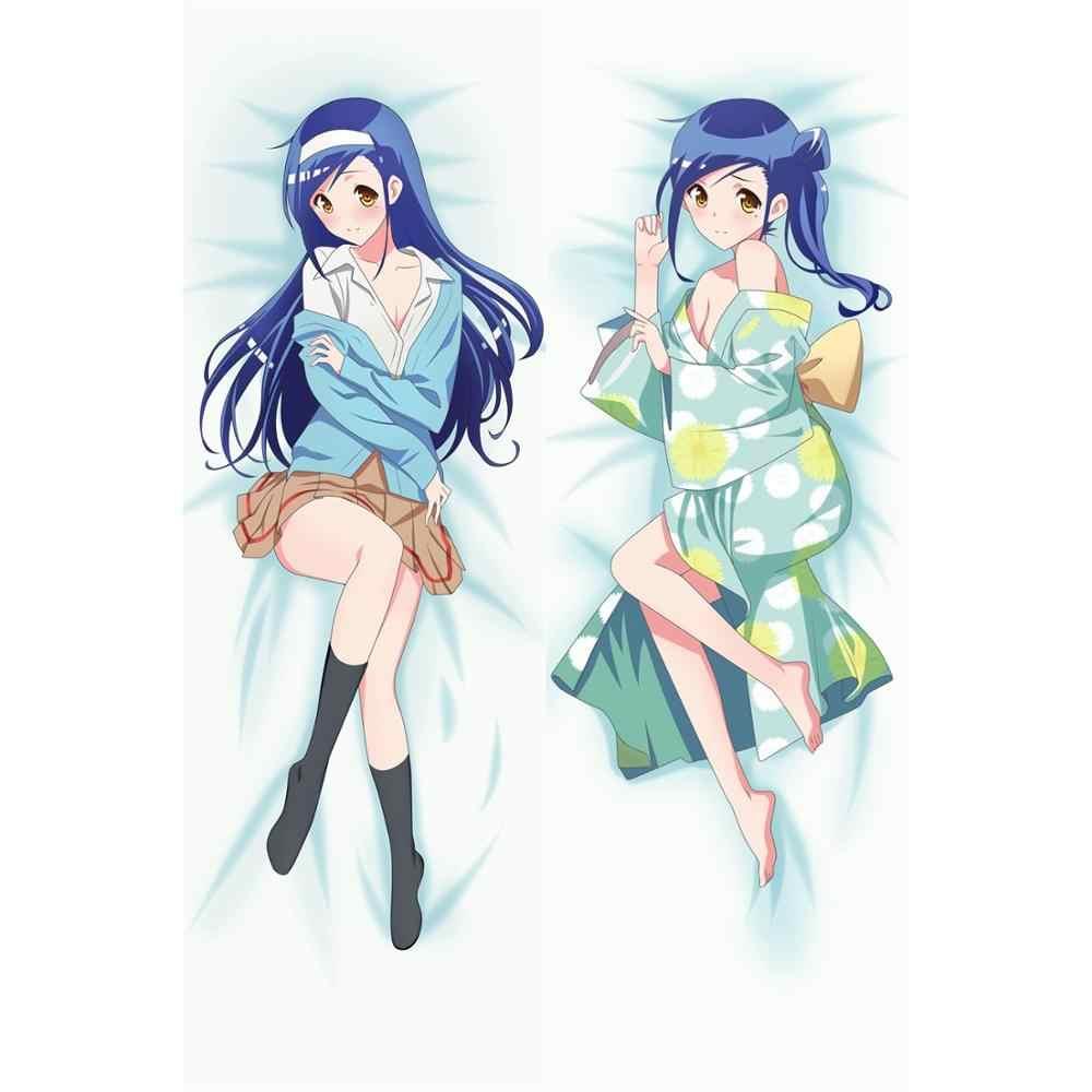 We Never Learn Bokuben Fumino Furuhashi Anime Dakimakura Body Pillow Case Cover