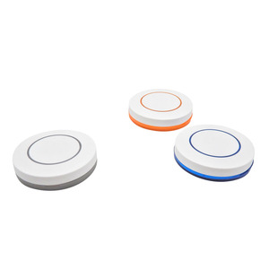 Image 1 - 433Mhz Wireless Remote Control KTNNKG 1 Button Round Remote Control Switch Feel Free To Paste EV1527 Chip Learning Type