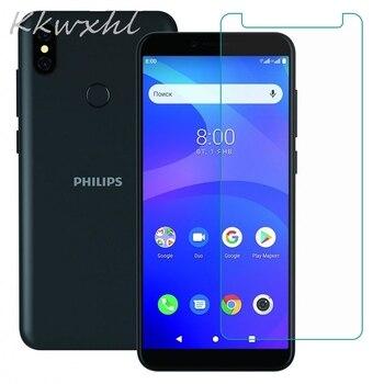 Перейти на Алиэкспресс и купить Смартфон 9H закаленное стекло для Philips S260 S397 стеклянная защитная пленка на Philips S257 S561 S395 Защитная крышка для экрана телефона