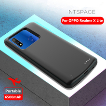 NTSPACE Battery Charger Cases For OPPO Realme X Lite Power Case 6500mAh Bank Charging External Powerbank