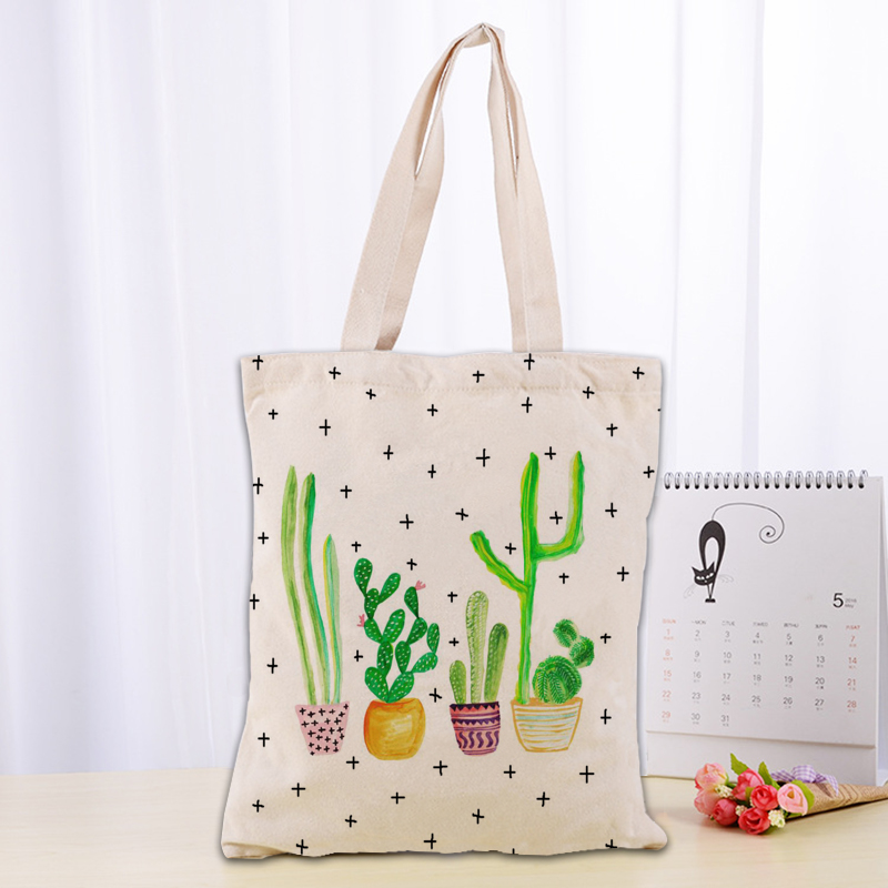 Womens Leather Kawaii Cactus Pot Handbag Satchel Tote Bag Tote Purse