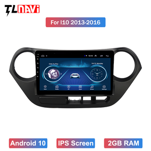 Android 10 GPS Car Stereo For 2013 2014 2015 2016HYUNDAI I10 Left Hand Drive 9 Inch Head Unit Multimedia Player