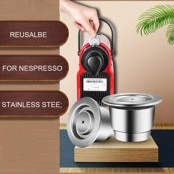 iCafilas Coffee Capsule Machine For Nespresso Refillable