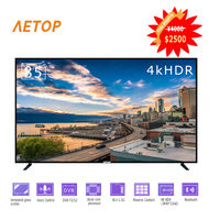 free shipping big size 85 inch flat screen tv explosion proof 4kUltra HD android tv led television smart with bluetooth