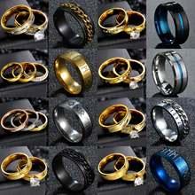 Романтический Двойной набор колец кольцо для женщин женские