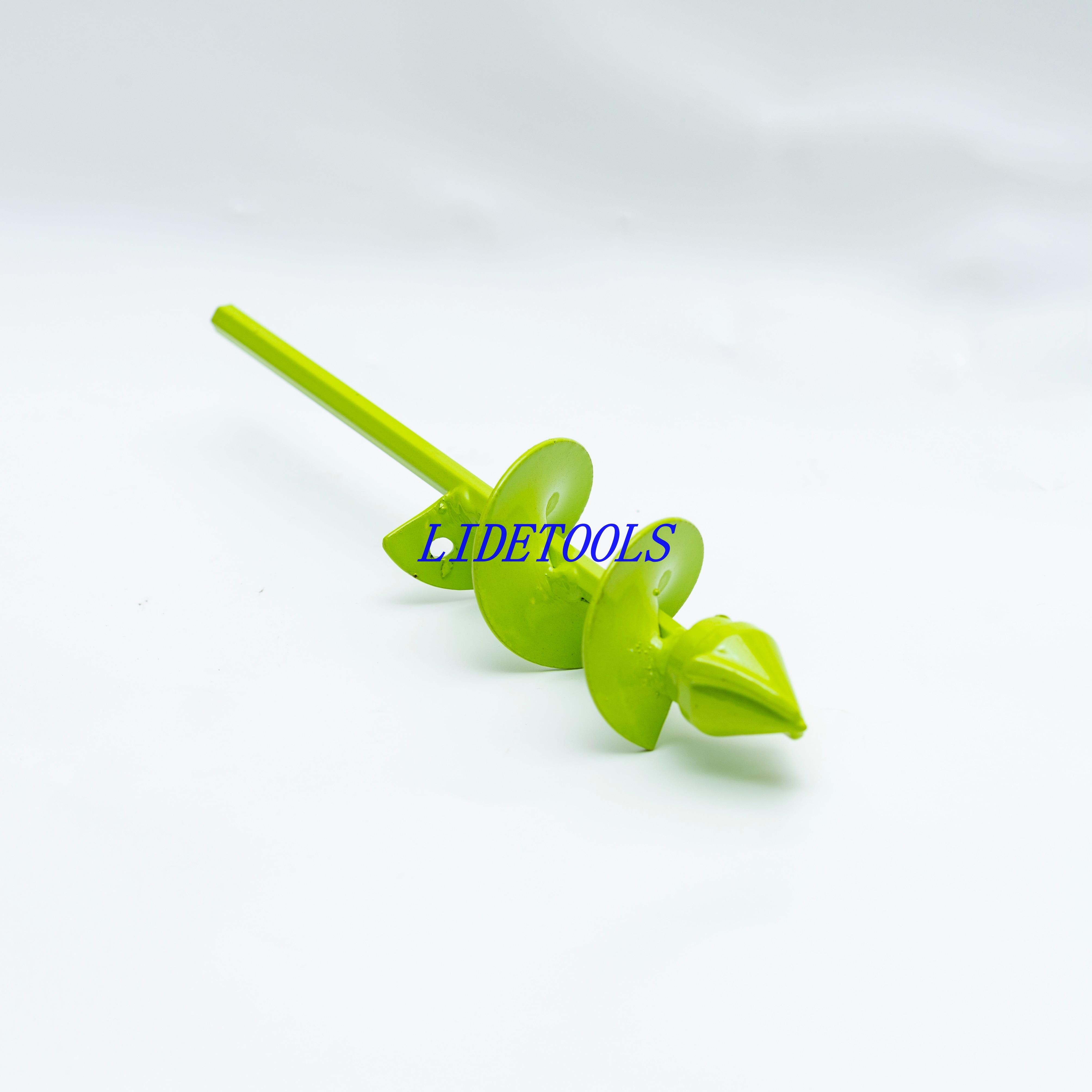 New Model Non-Slip Drive Shaft  Bulb&Flower Planter  Auger Drill Bits Garden Drill Bits-Diameter 50mm,22CM/40CM