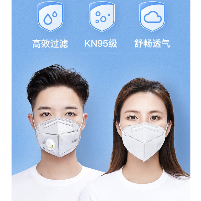 5 Layers Face Mouth Mask Antivirus Flu Anti Infection KN95 Particulate Respirator PM2.5 Professional Korean Style Mascarillas 5