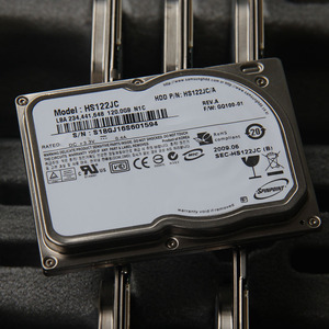 """Image 1 - New 1.8"""" CE ZIF 8MM 120GB Hard disk drive HS122JC For Sony TZ13 TZ33 TZ37 For K12 U110 LAPTOP HDD Replace MK1011GAH MK1214GAH"""