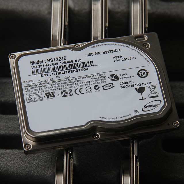 """New 1.8"""" CE ZIF 8MM 120GB Hard disk drive HS122JC For Sony TZ13 TZ33 TZ37 For K12 U110 LAPTOP HDD Replace MK1011GAH MK1214GAH"""
