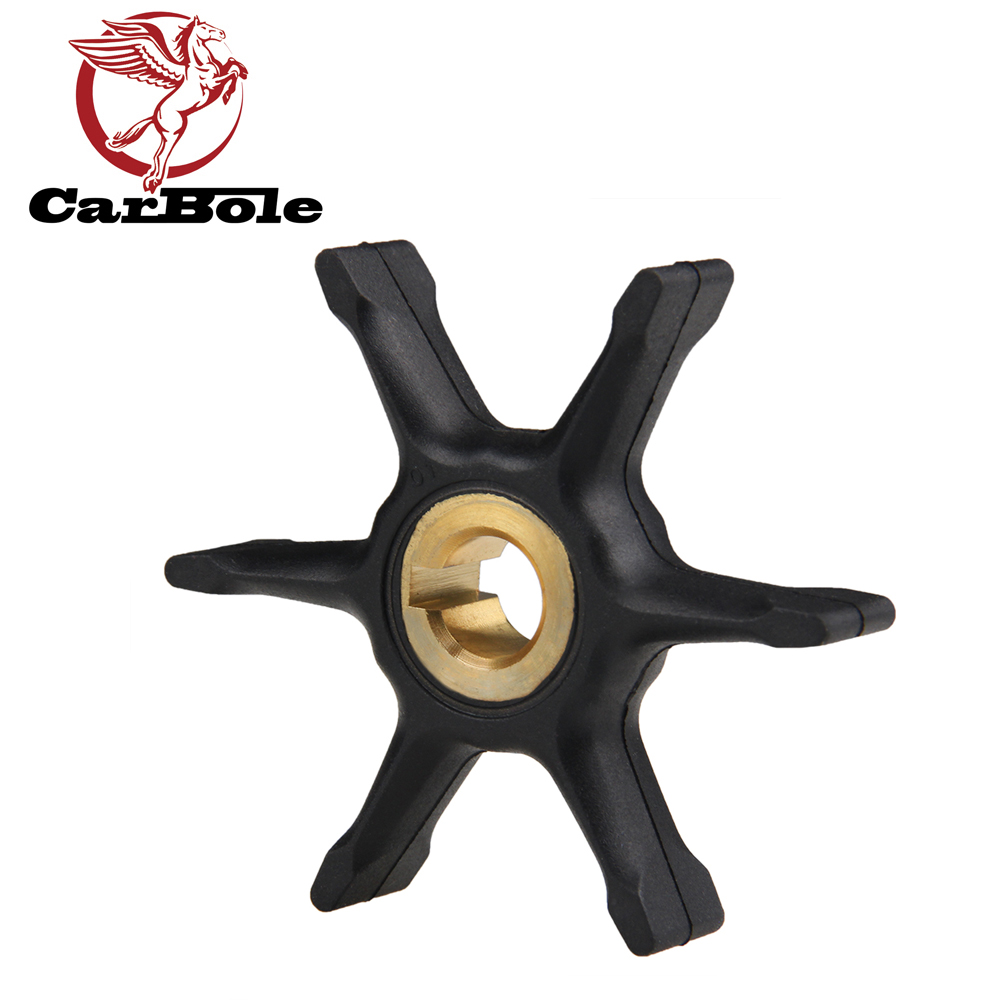 CARBOLE Outboard Motor Impeller For Johnson Evinrude BRP OMC 3HP 4HP 5HP 5.5HP 6HP 7.5HP 2-Stroke 277181 434424 IMP1012 9-45216R