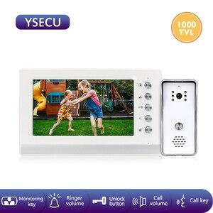 YSECU 7 inch 1000TVL HD Video