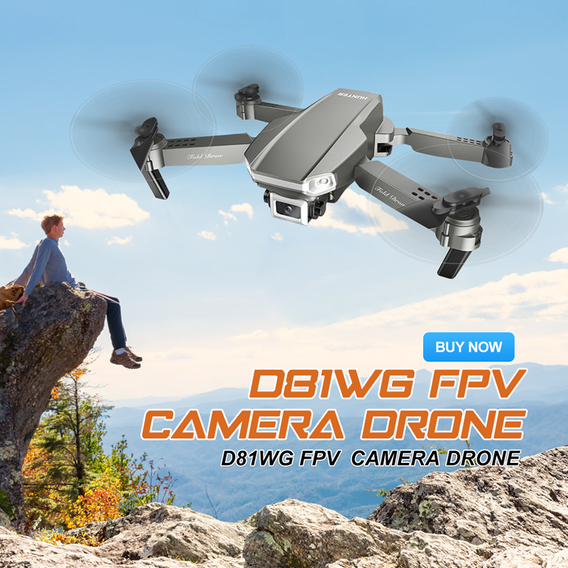 Eachine D81WG Drone GPS 4K HD FPV Camera Quadcopter Aerial Photography Four-Axis Foldable RC Helicopters Racing Toys Kids Gifts