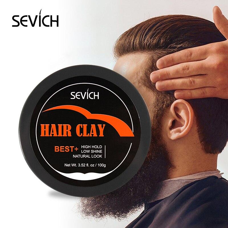 Твердый удерживающий гель для укладки волос для мужчин, воск для причесок, матовый готовый молдинговый крем, натуральные Инструменты для ук...