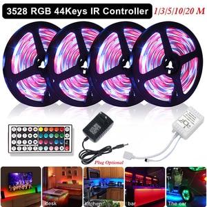 Светодиодная лента RGB USB TV, светодиодная водонепроницаемая лента, светильник s, гибкий светодиодный светильник, 5 В, Ambi, светильник для украше...