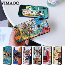 Jean Michel Basquiat Art Graffiti Silicone Case for Redmi Note 4X 5 Pro 6 5A Prime 7 8