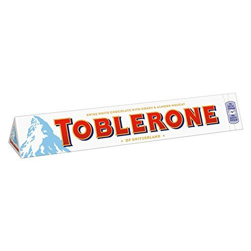 Toblerone White Chocolate Bar, Large, 360 G