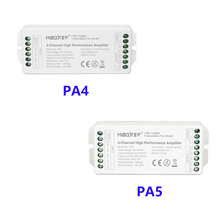 PA4/PA5 4/5-Channel LED Signal Amplifier Use PWM Controller DC12V-24V MAX15A Hight Performance for Led Lamp Free Shipping