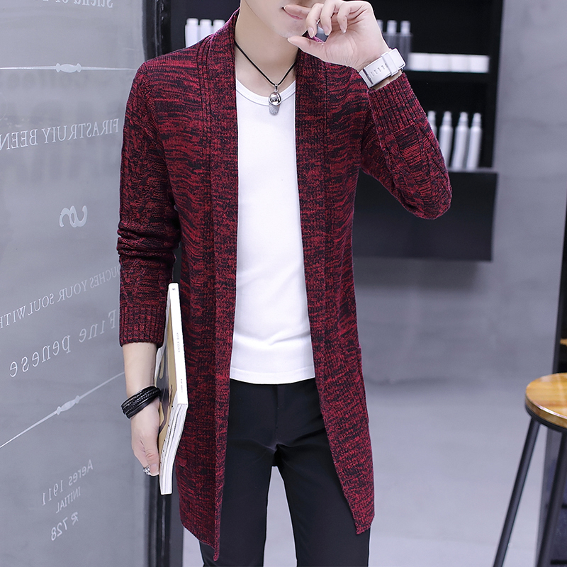 Cardigan Men Casual Knitted Cotton Wool Sweater Men Clothes 2020 Autumn New Mens Sweaters and Cardigans Coat