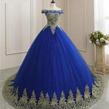 Ball-Gown Quinceanera-Dress Robe-De-Bal Lace Party Vintage Luxury Neck Vestidos-De-15