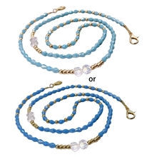 Face-Mask-Chain Lanyard Jewelry Necklace-Strap Eyeglass Leash Beaded Braided Anti-Lost-Holder