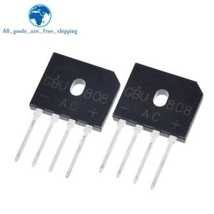 5Pcs GBU808 800V 8A power Diode Bridge Rectifier
