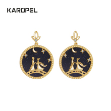 Karopel Creative China Famous Myth Love Earings For Couples Valentines Day Present