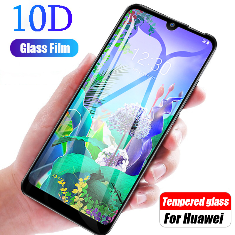 10D For Glass LG Q60 K50 K40 V50 Tempered Glass Screen Protector On LG K10 V40 V30 V20 Glass On G8 G6 G7 Protective Phone Film