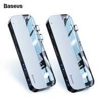Baseus-moyeu de USB C 3.0 pour Macbook Pro, moyeu HDMI pour Surface, 3, adaptateur d'alimentation, 3.0, de Type C pour Huawei Matebook