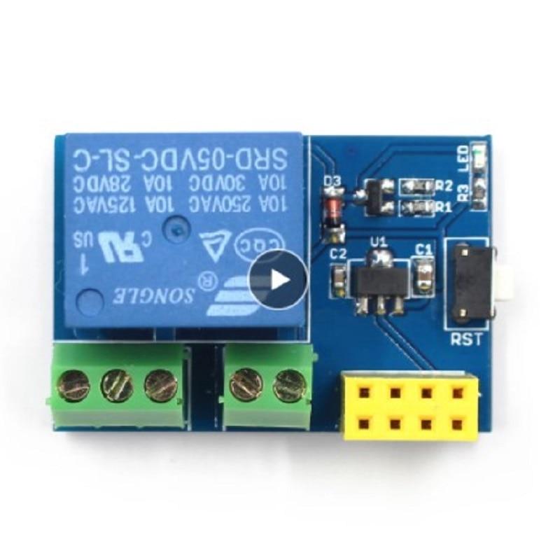 ESP8266 ESP-01S триггерный релейный модуль реле WI-FI умная розетка Управление переключатель с помощью приложения на телефоне для умного дома высок...
