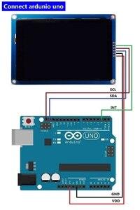Image 5 - Nieuwe 3.5 inch HMI I2C IIC LCD Display Module Capacitieve Touchscreen 480x320 voor Arduino
