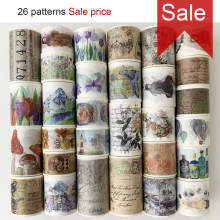 Free shipping washi tape,Techo tape,DIY craft masking tape,Scrapbook Diary gift,Many Coupons & flower patterns.HOT & SALE,16034