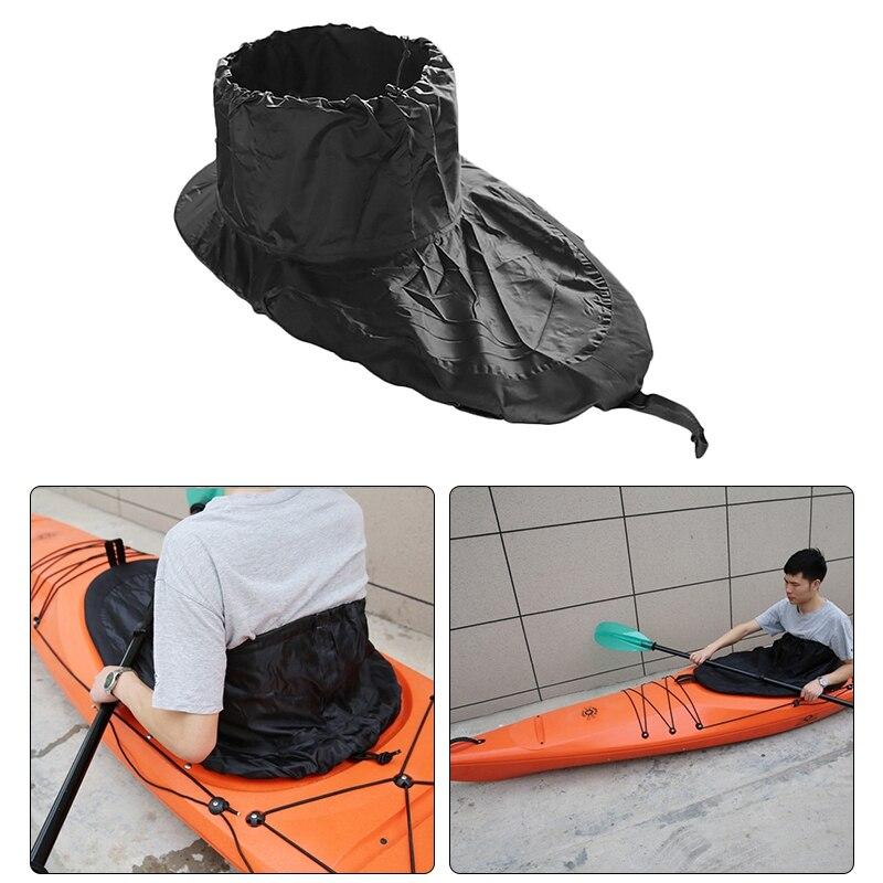 Adjustable Kayak Spray Skirt Cover Canoe Cover Nylon Cloth Waterproof