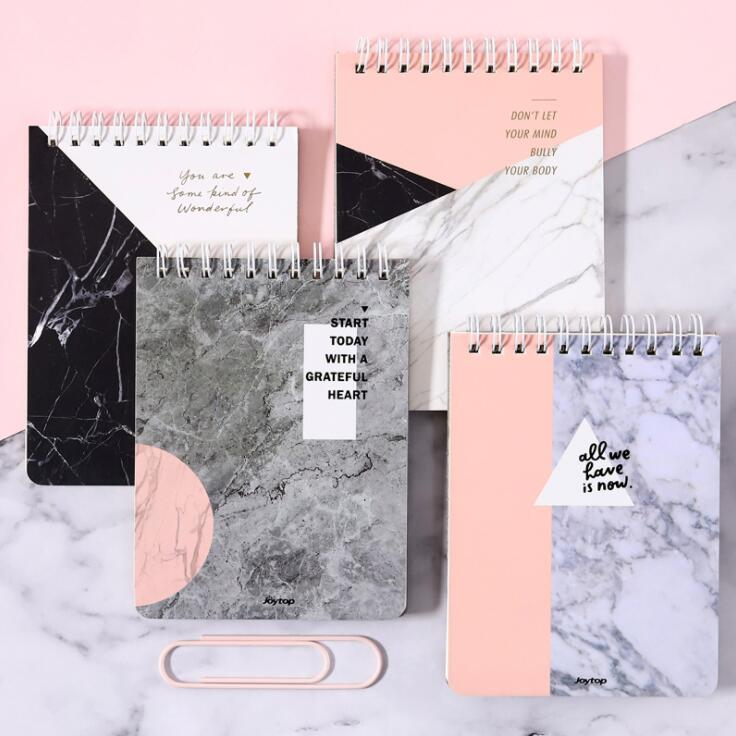 New Arrival A6 Kawaii Double Coil Spiral Japanese Notebook Weekly Memo Planner Daily Schedule Plan Book Line School Stationery