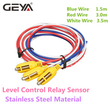 GEYA GRL8 Liquid Level Control Relay Sensor Stainless Steel Material 1.5m 3m 3.5m