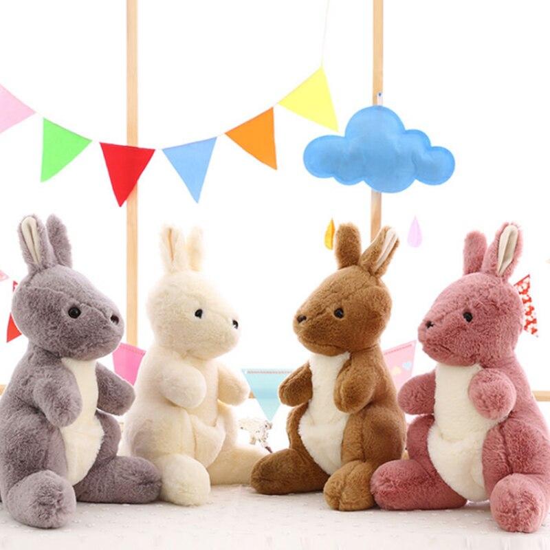 De peluche animales de peluche de canguro de peluche clásico muñeca juguetes de peluche de felpa de juguete muñecos de canguros y Accesorios Niño acción y juguete figura
