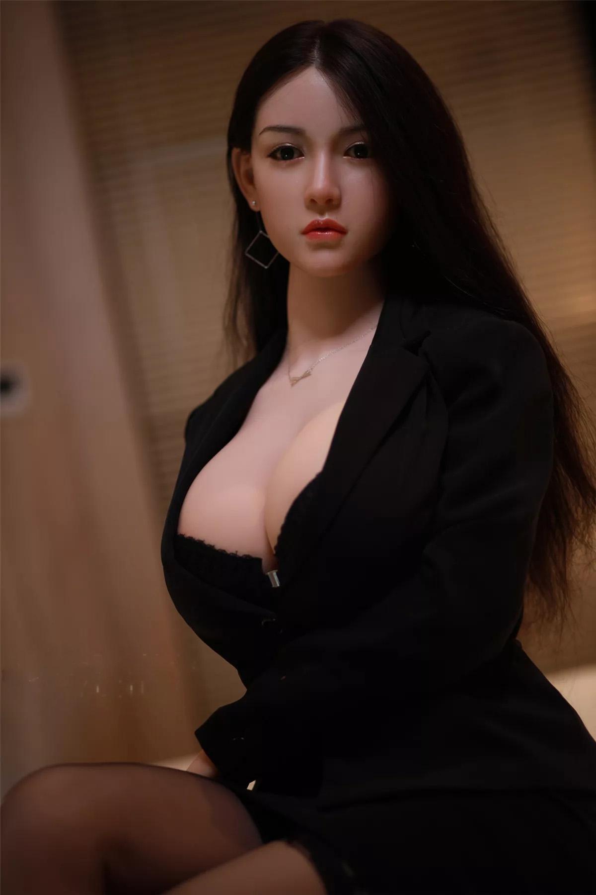 H1a4111c31a7640b7b5de454a9fac18a3N Muñecas sexuales de silicona Real para hombres adultos, Robot de amor de Anime japonés de 158cm, juguetes realistas de vida para hombres, con pecho grande y completo, Vagina y atractiva