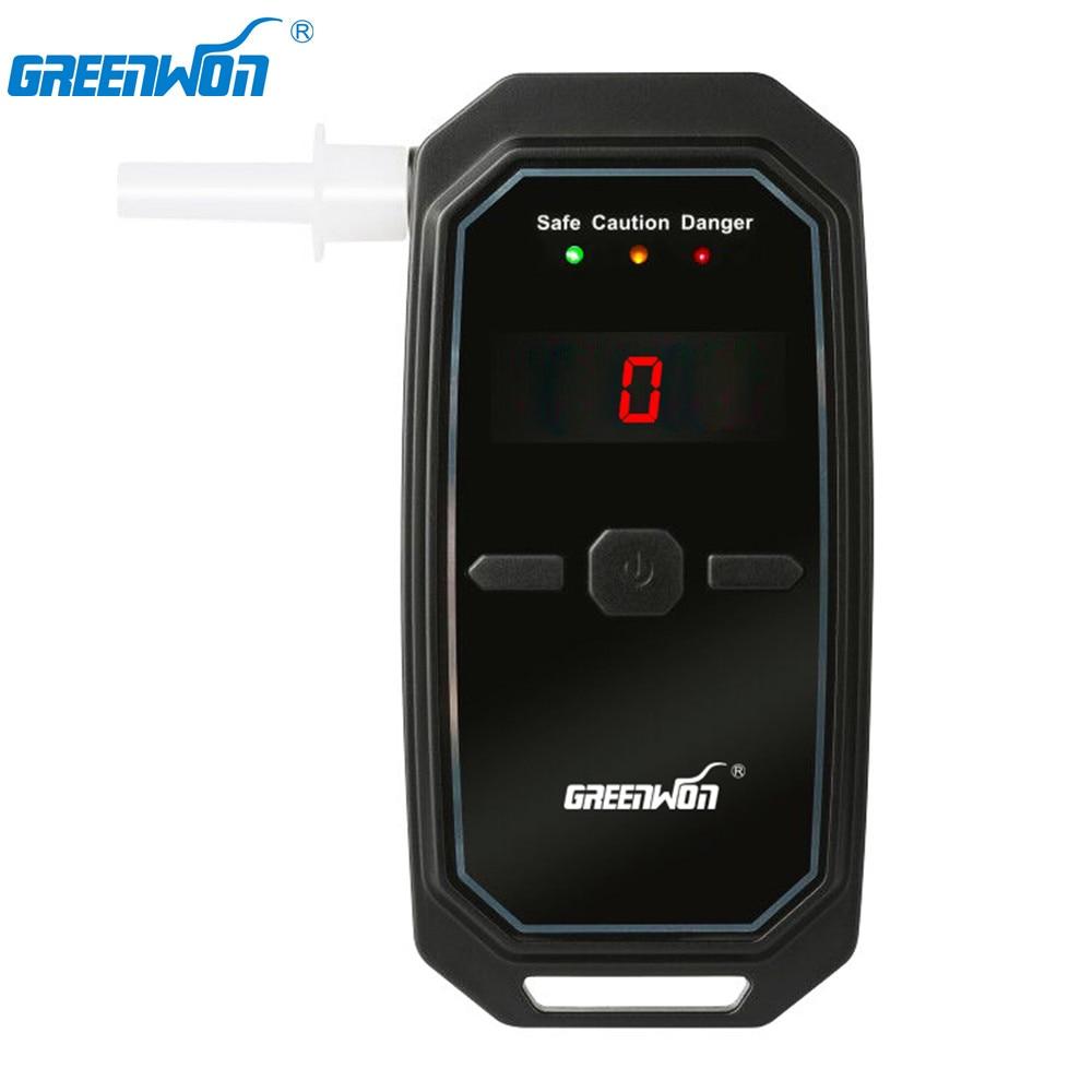 GREENWON Fuel Cell sensor alcohol tester car power & portable power supply breathalyzer digital alcohol detector